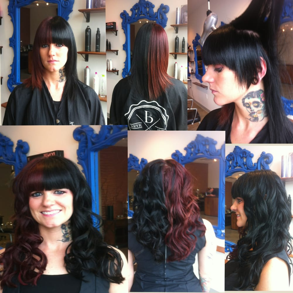 Beau Salon Before And After Hairdreams Extensions Done By Beau At Benjamin