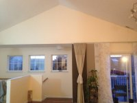 painting vaulted ceilings and walls and trim