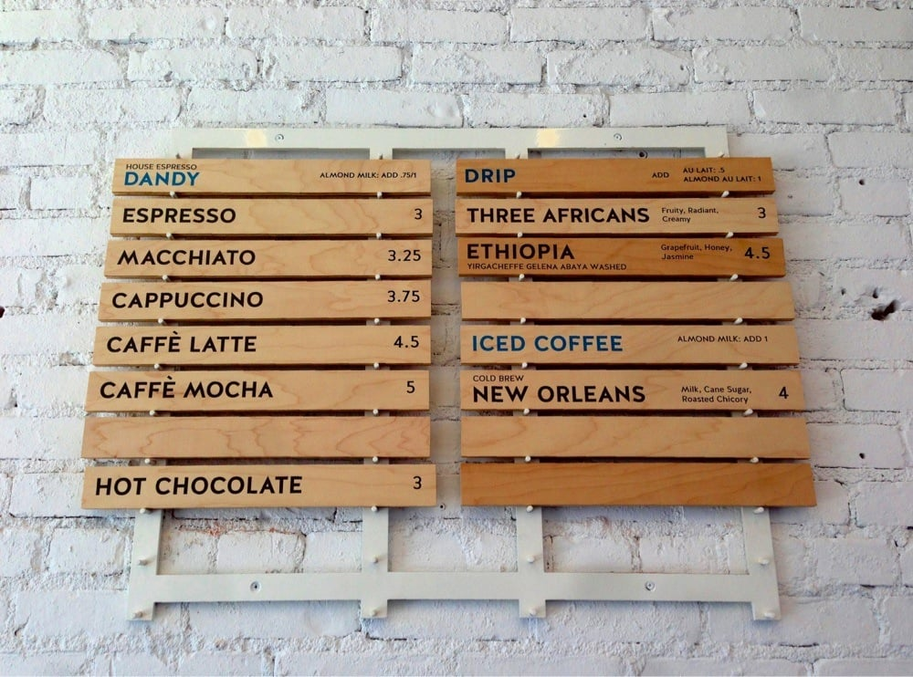 18 best Retail Display images on Pinterest Retail displays - coffee menu