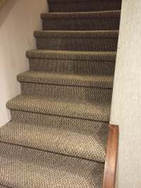 Berber carpet for basement stairs. - Yelp