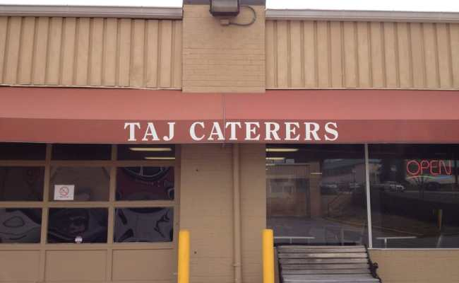 Storefront Of Taj Caterers Yelp