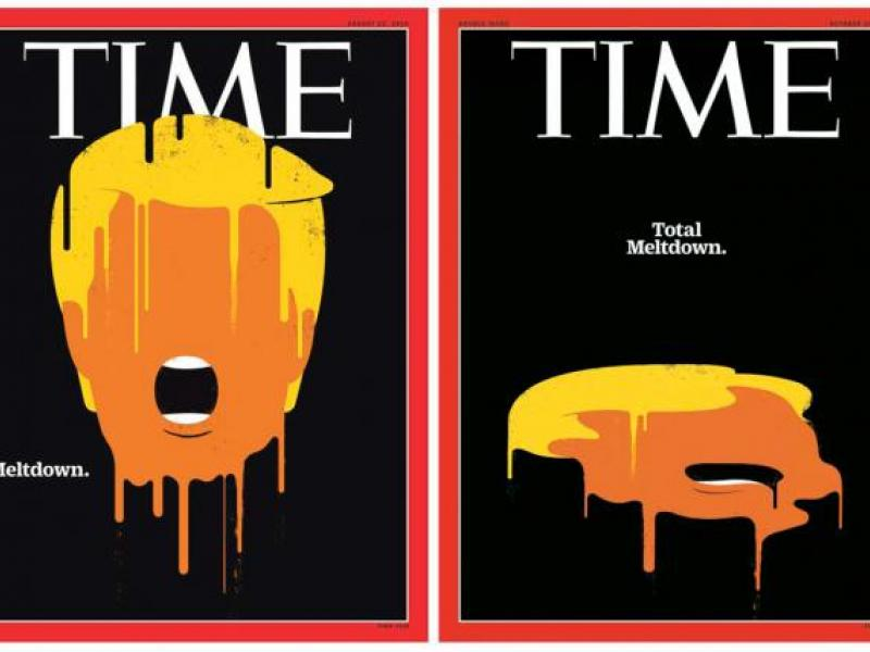 Time Updates Its Trump \u0027Meltdown\u0027 Cover to \u0027Total Meltdown\u0027 -- Watch