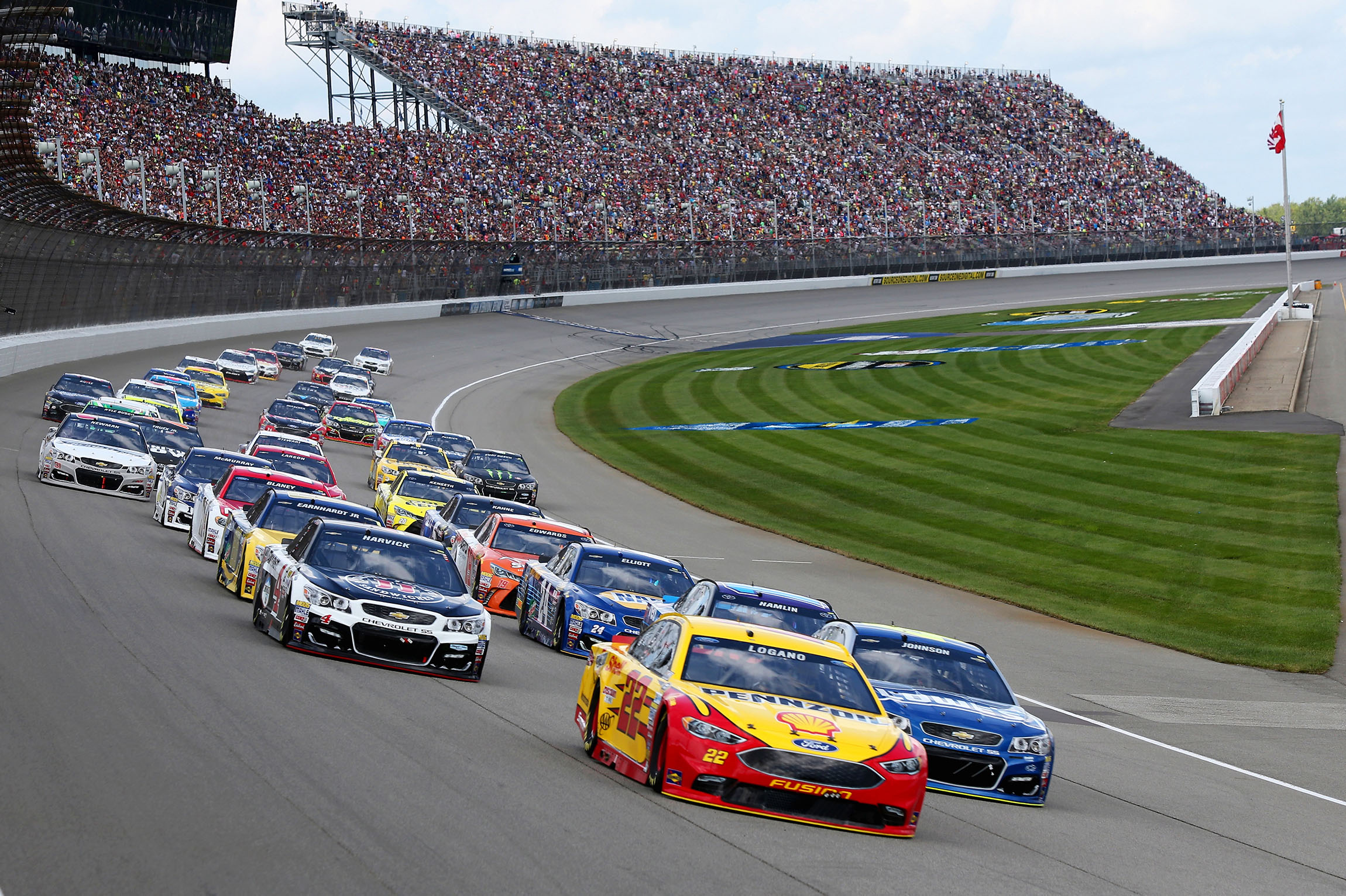 Speed Way Nascar To Return To Michigan International Speedway For 2 Races In