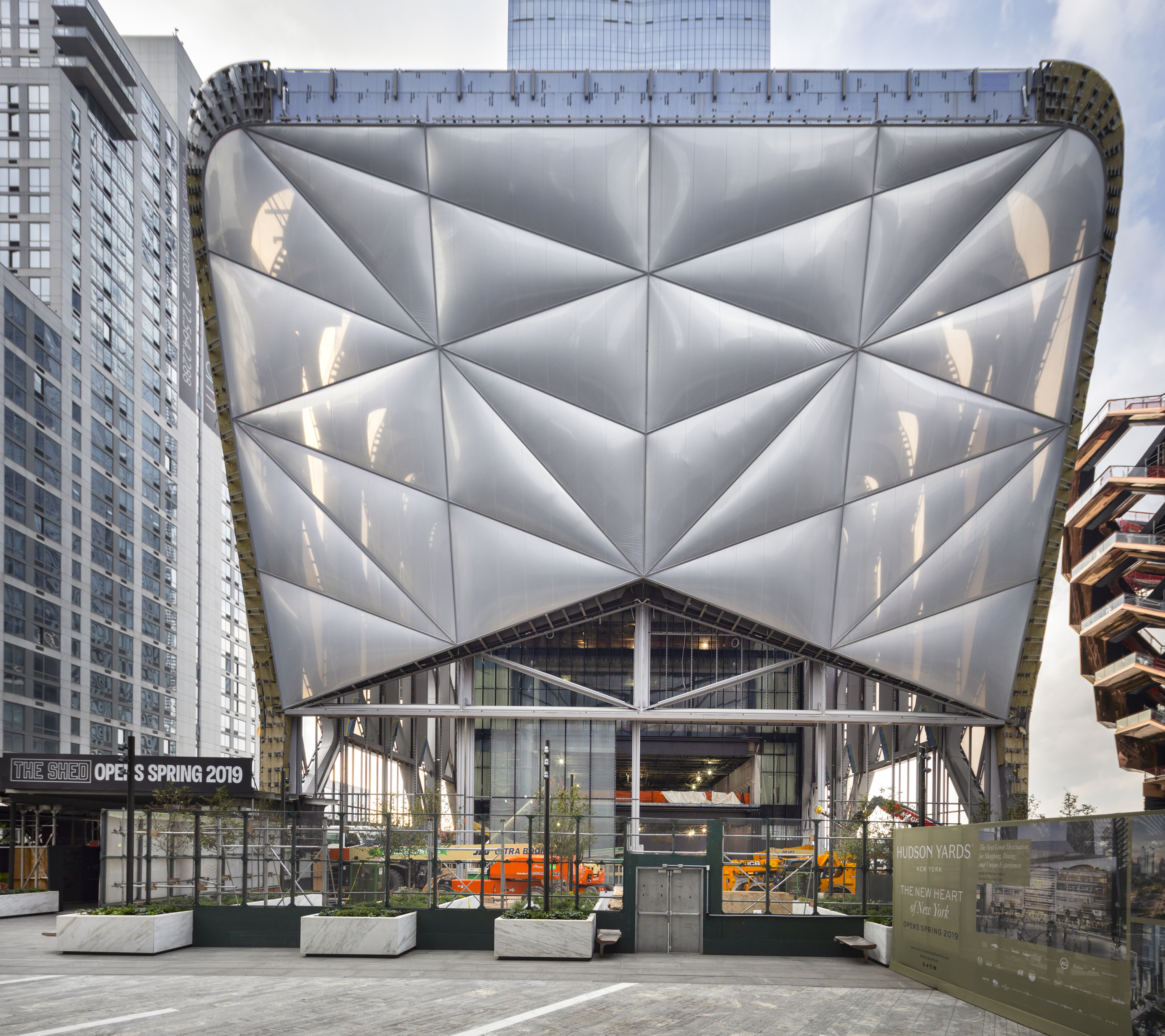 Tisch Hospital Ranking Hudson Yards Arts Nonprofit The Shed Names Its Home The Bloomberg