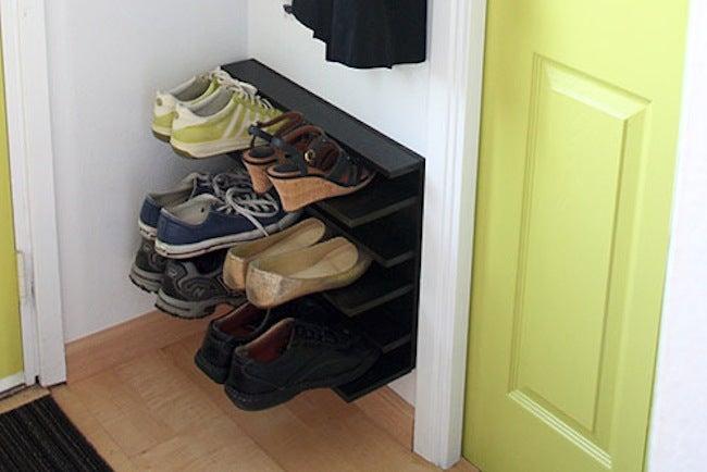 diy shoe rack ideas 5 you can make bob vila how to make