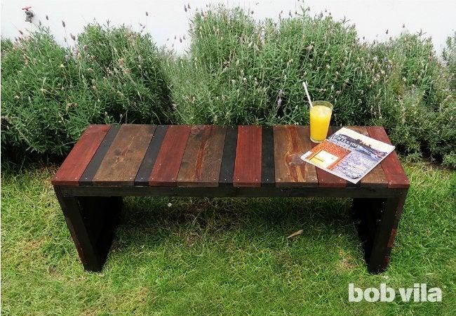 Diy Outdoor Bench - Diy Lite - Bob Vila