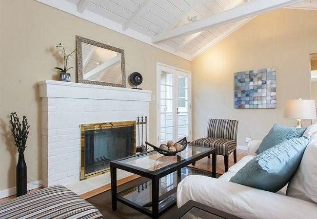 How To Paint A Brick Fireplace Bob Vila