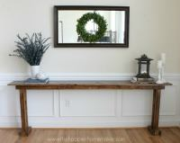 DIY Console Table - 5 Ways - Bob Vila