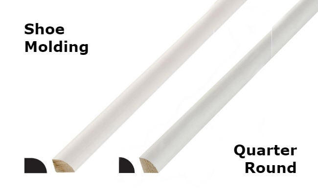 Shoe Molding Vs Quarter Round Shoe Molding 101: Get To Know This Part Of Baseboard | Bob