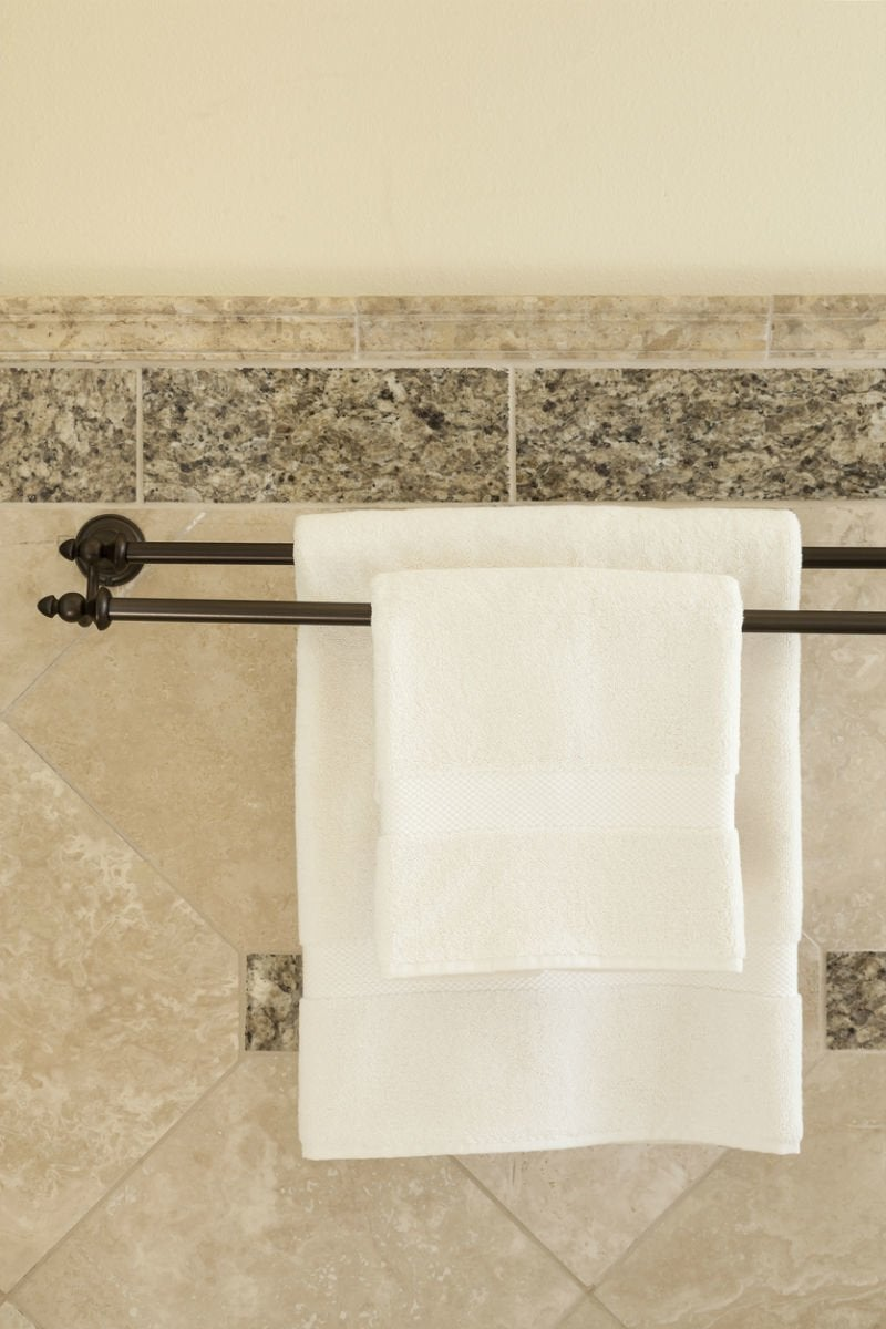 Towel Bar Placement Towel Bar Height For Bathrooms, Solved | Bob Vila