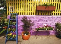 Colorful Backyard - Cheap Patio Ideas - 8 DIY Pick-Me-Ups ...
