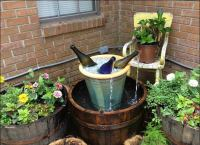 Wine Bottle Fountain - DIY Fountain Ideas - 10 Creative ...