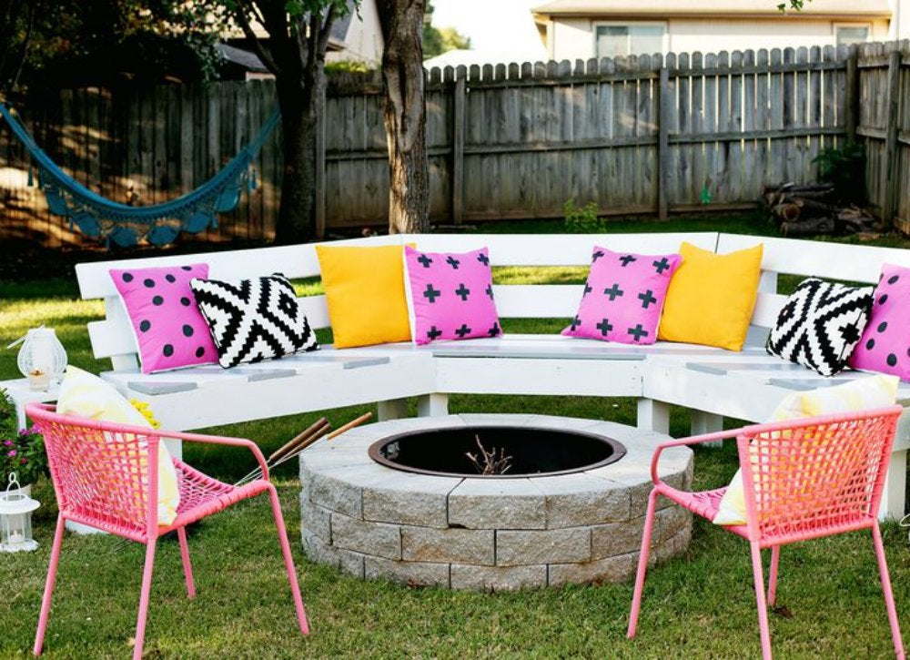 Wetterfeste Gartenbank Diy Backyard Ideas - 9 Creative Ways To Make A Hangout