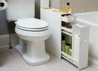 Narrow Bathroom Cabinet - Bathroom Storage Ideas - 10 ...