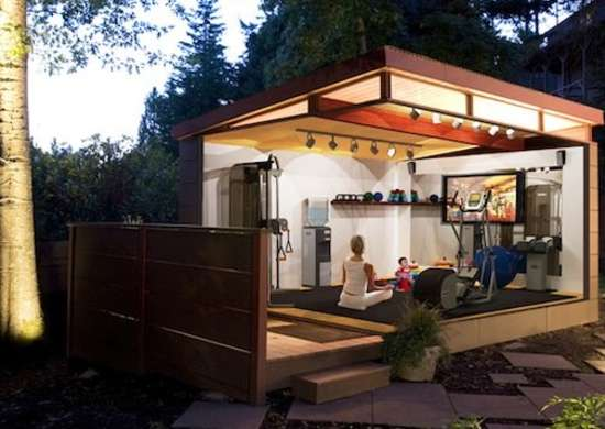 home gym backyard sheds outbuildings bob vila amazing backyard shed plans shed building plans