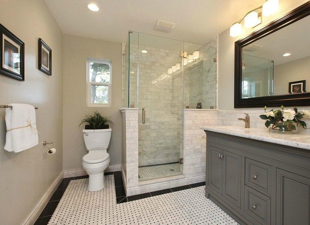 Paint Over Wallpaper - How to Decorate a Bathroom - 9 New Ideas - Bob Vila
