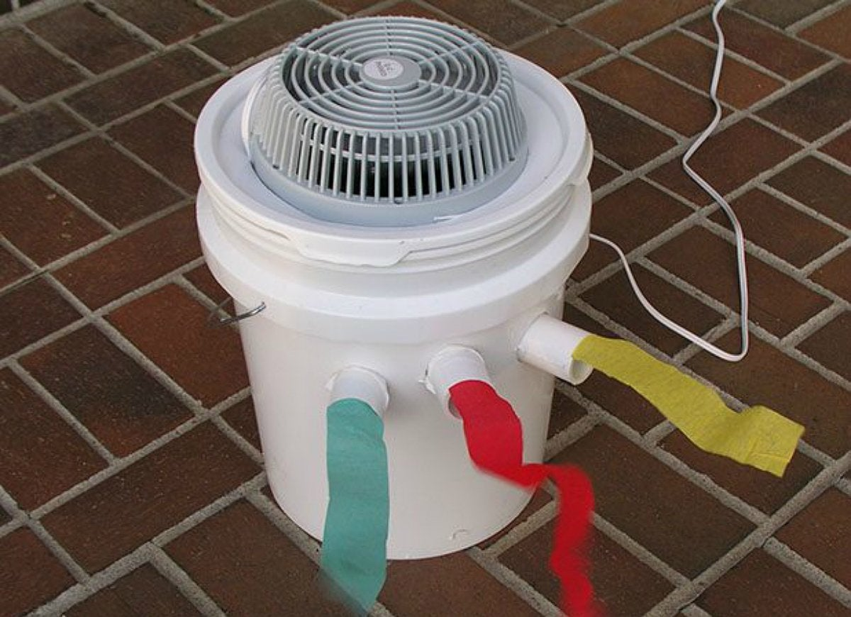 Diy Air Conditioner No Electricity Save Money In Summer With A Diy Air Conditioner Saving