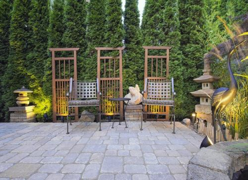 Medium Of Plants For Backyard Landscaping