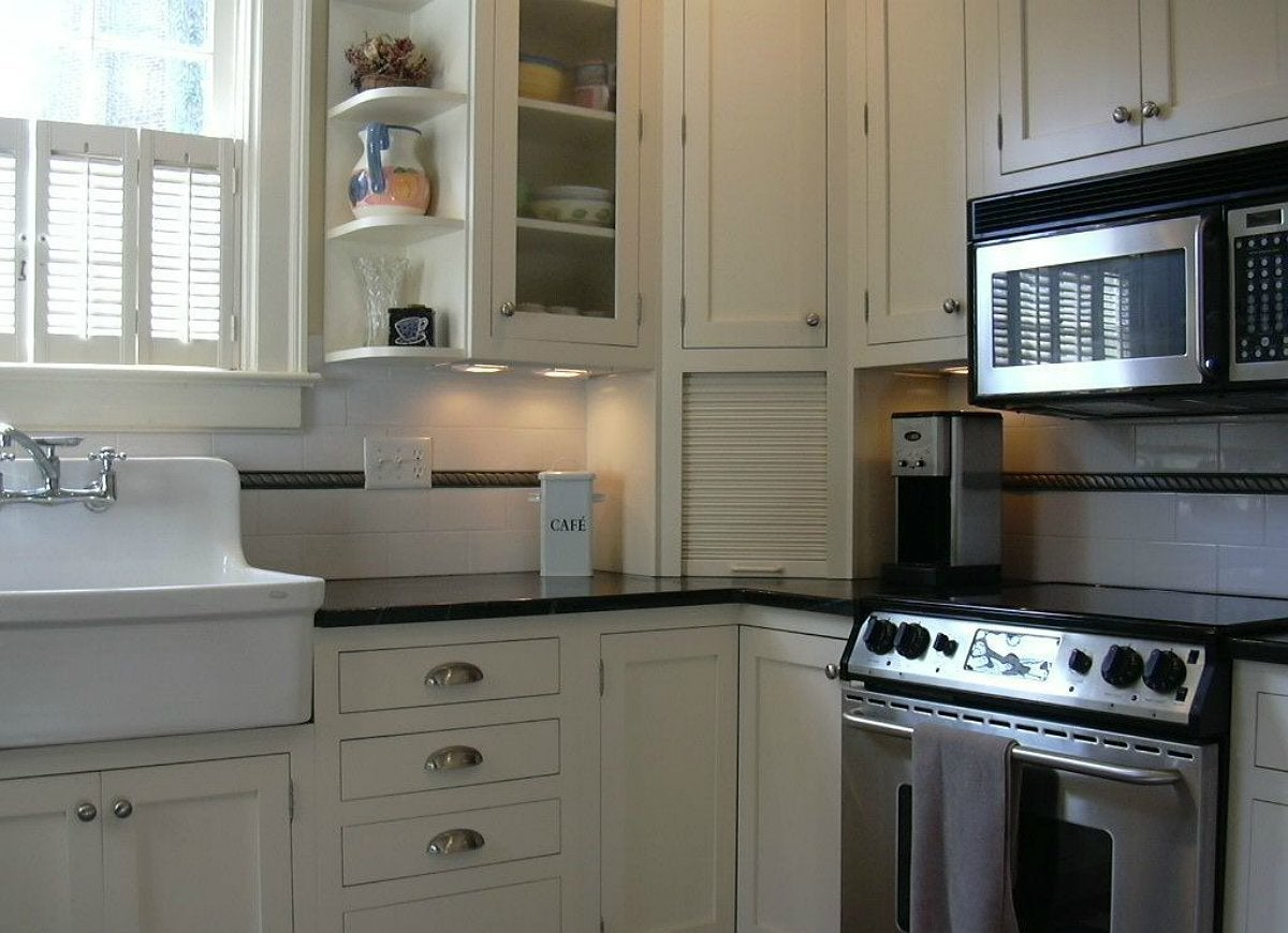 Kitchen Cabinets Appliance Garage Appliance Garage Kitchen Trends 12 Ideas You Might