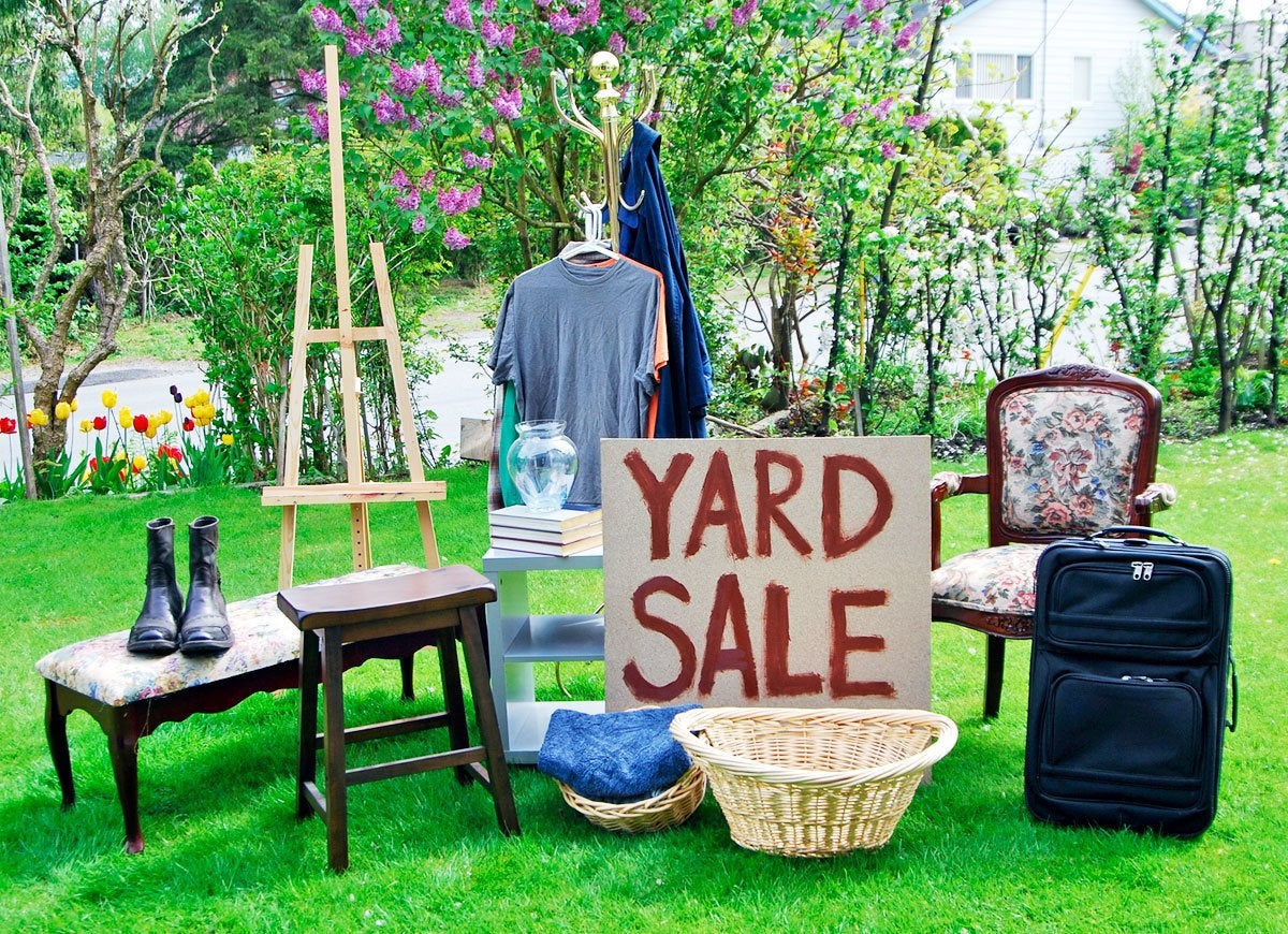 Sale Outdoor Garage Sale Tips 10 Ways To Score Big Bob Vila