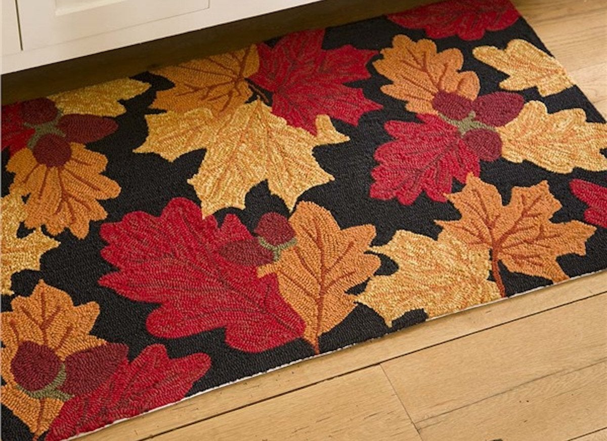 Leave Welcome Mat Fall Leaf Welcome Mat Fall Front Porch Ideas 8 Things