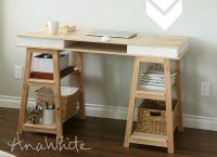 DIY Desk - 15 Easy Ways to Build Your Own - Bob Vila