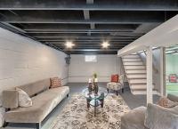 Paint Basement Rafters - Unfinished Basement Ideas - 9 ...