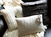 DIY Sweater Pillows - Repurpose Sweaters - 14 DIY Ideas ...