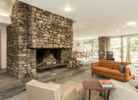 Frank Lloyd Wright Inspired Home - Fireplace Designs: 21 ...