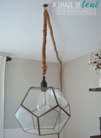 DIY Light Fixtures You Can Make for Cheap - Bob Vila