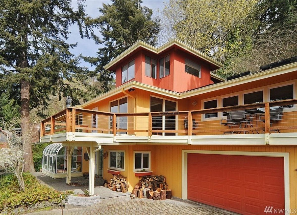 Orange Exterior Paint Colorful Houses We Love Bob Vila