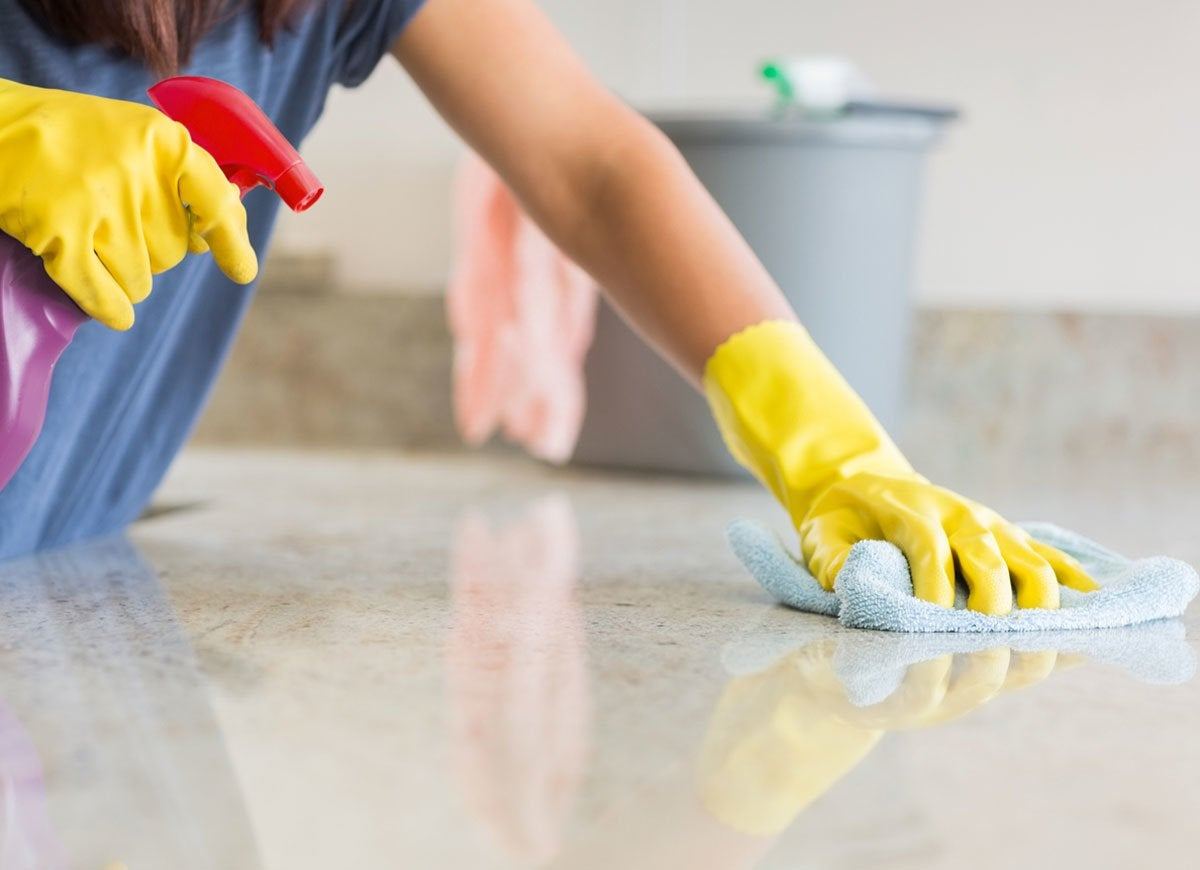 Can You Bleach Granite Countertops 10 Countertop Cleaning And Maintenance Mistakes Bob Vila