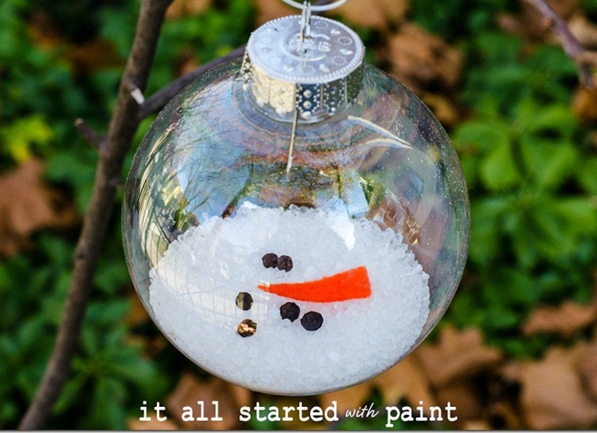 Diy Christmas Ornaments Diy Christmas Ornaments 45 Insanely Easy To Make Decorations
