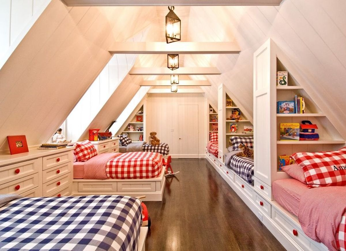 Built In Bed Nook Attic Rooms 21 Ways To Capitalize On Your Top Floor Bob Vila