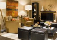 Living Room Basement Makeover - Finished Basement Ideas ...