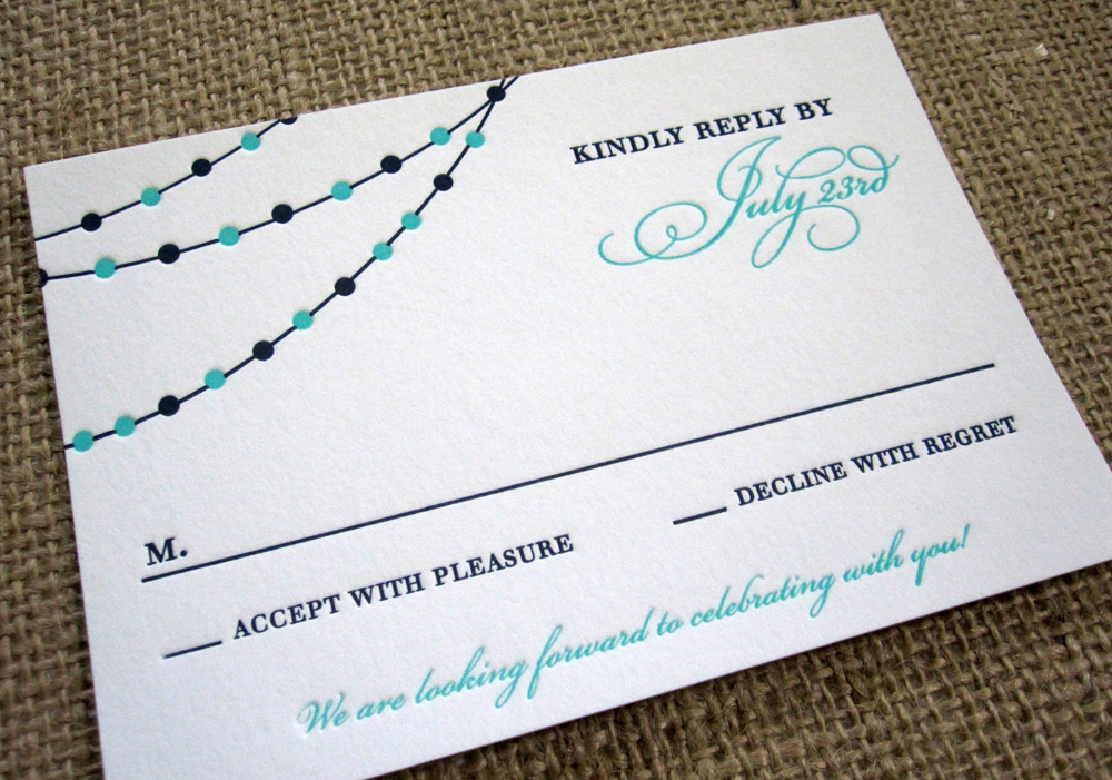 RSVP Card Insight  Etiquette - Every Last Detail
