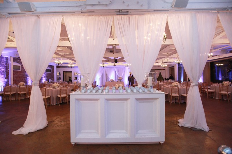 A Glamorous Pink White Silver Engagement Party Every