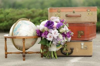 Vintage Modern Travel Inspired Wedding Ideas   Every Last ...