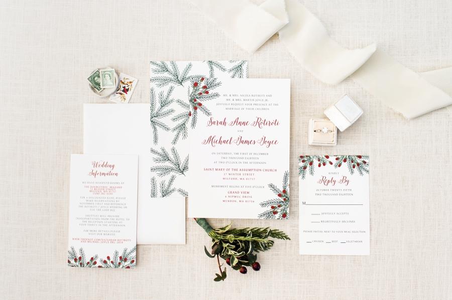 An Elegant Christmas Wedding Every Last Detail