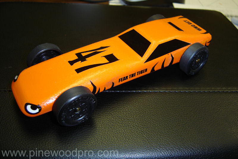 Cool Pinewood Derby Cars!
