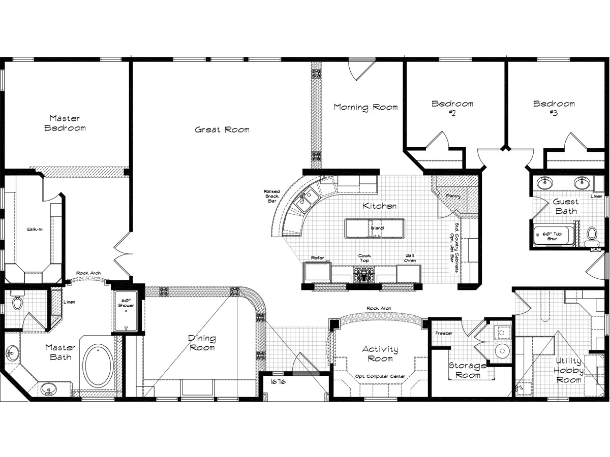 Housing Floor Plans Layout 16 Beautiful Manor Layout House Plans 74047
