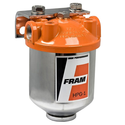 Fuel Filter and Housing, Fram (FRM-HPG1) Seven Classic Mini Parts