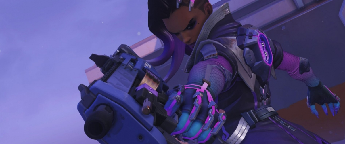 Overwatch Cute Sprays Wallpaper Overwatch Here Are All Of Sombra S Skins Emotes Sprays