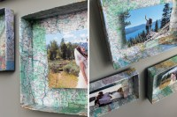3 Clever Ways to Turn Shoeboxes into Wall Art | Brit + Co