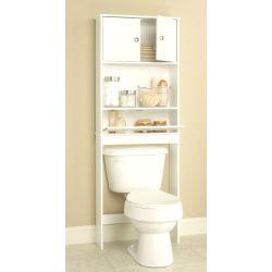 Small Crop Of Bathroom Shelves Over Toilet