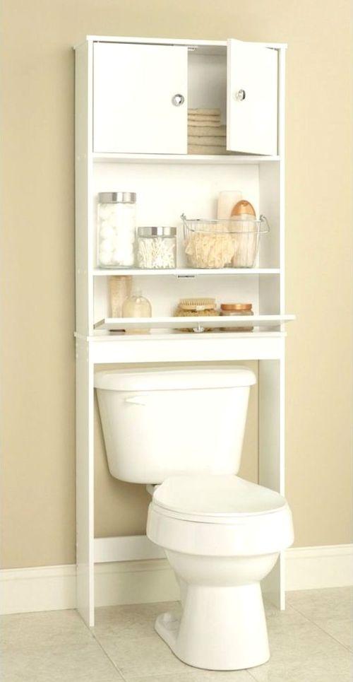 Medium Of Bathroom Shelves Over Toilet
