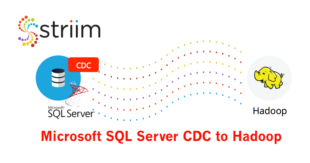 MS SQL CDC to Hadoop Tapping Microsoft SQL Server for Fast Decision
