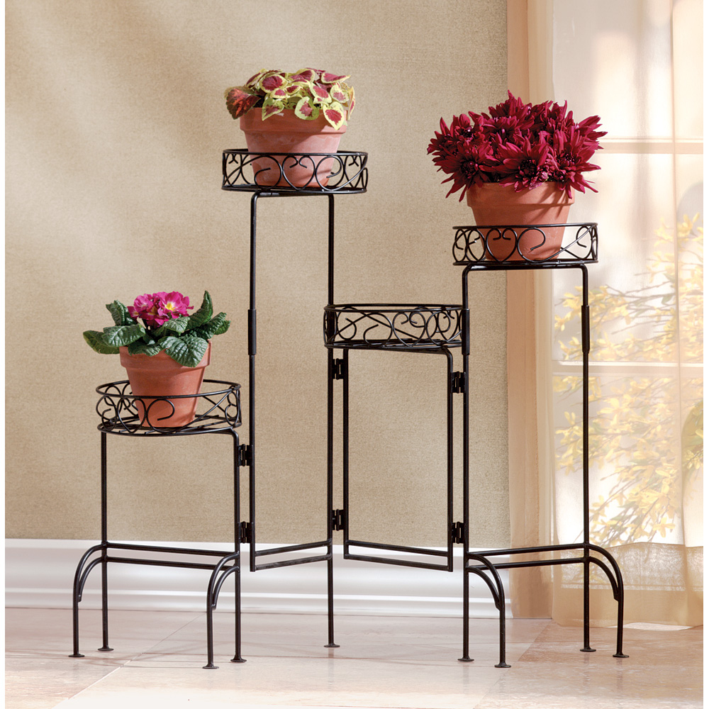 Planting Tables For Sale Wholesale 4 Tier Metal Plant Stand