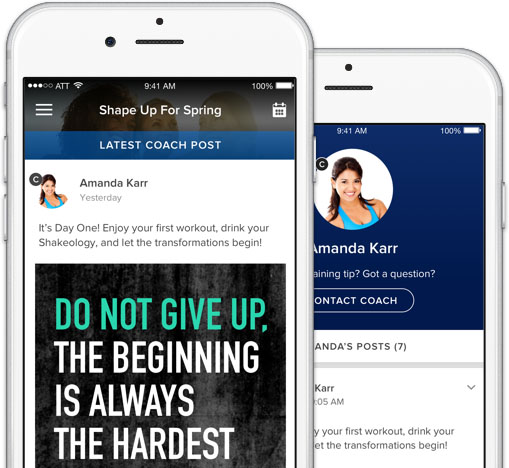 Get Results with My Challenge Tracker The Beachbody Blog