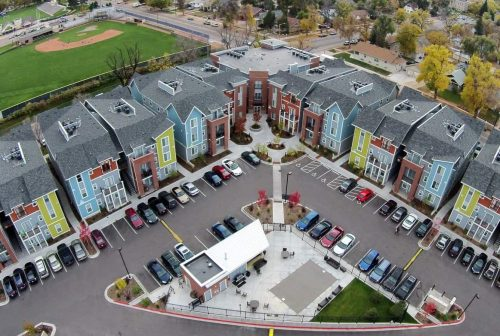 Medium Of Auraria Student Lofts